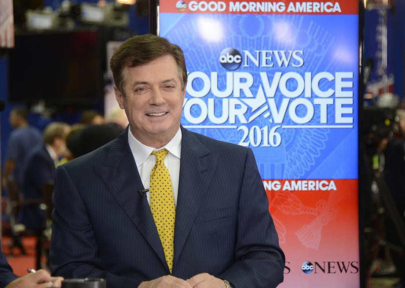 Paul Manafort speaking from the floor of the 2016 Republican National Convention to ABC.