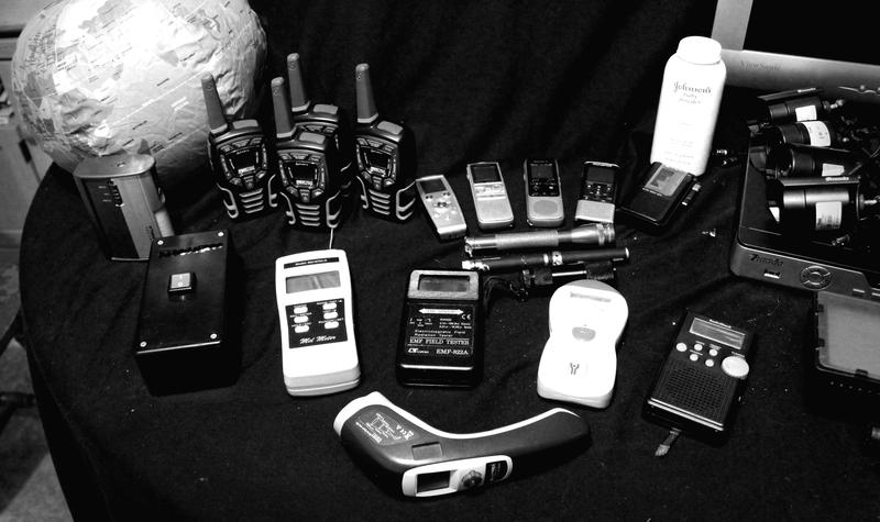 Ghost hunting equipment.