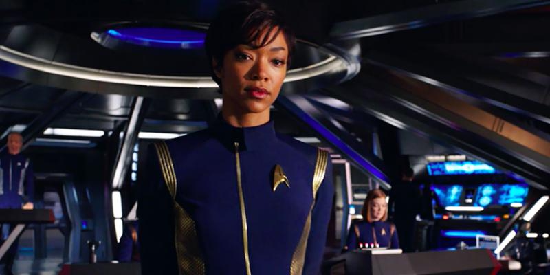 """Sonequa Martin-Green as Michael Burnham on """"Star Trek: Discovery"""""""