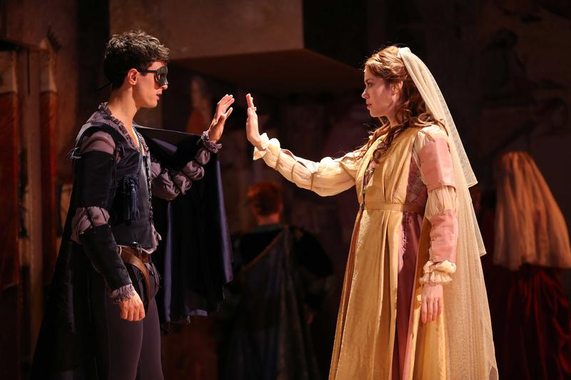 "Westport Country Playhouse's production of ""Romeo and Juliet"" runs through November 19."
