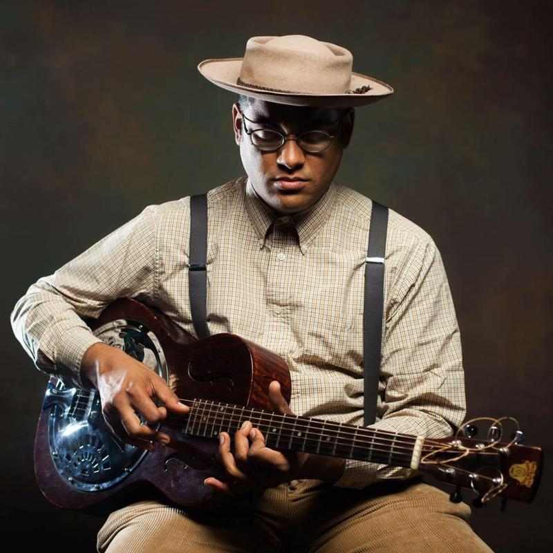Dom Flemons brings his old-time style to New Haven's Cafe Nine Wednesday, 11/15.