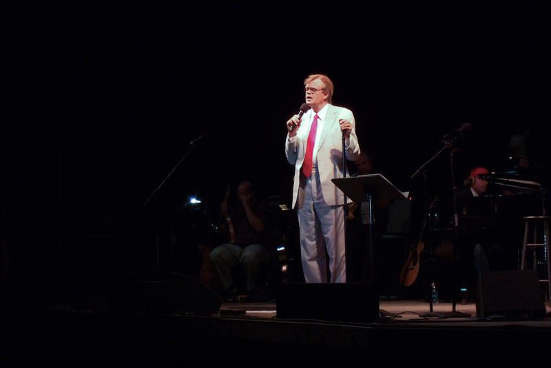 Garrison Keillor is scheduled to perform in Torrington, Connecticut Thursday night.