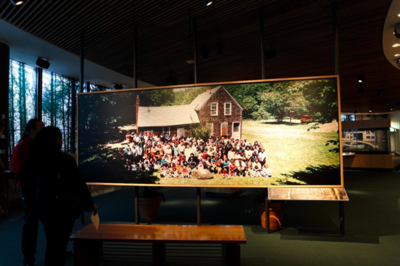 Mashantucket Museum and Research Center.