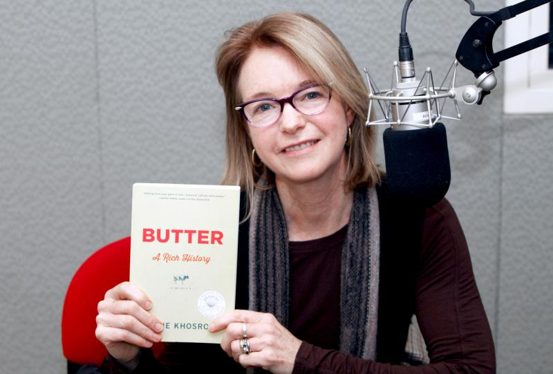 Elaine Khosrova - Author of Butter: A History, a former pastry student at Culinary Institute of America and a former test kitchen editor at Country Living magazine.