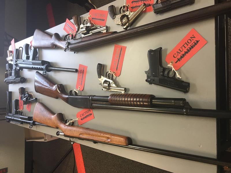 Gun Buyback at CRT's office in Hartford