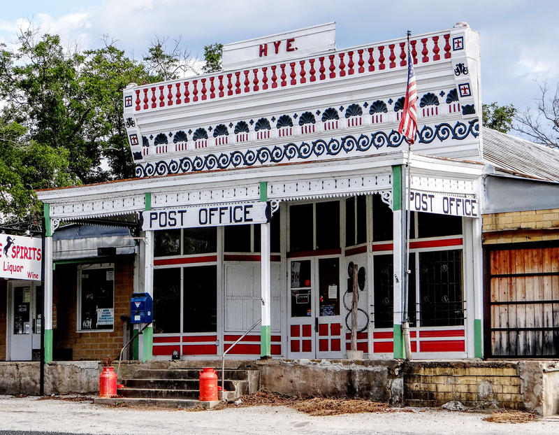 Post Office, Hye, Texas