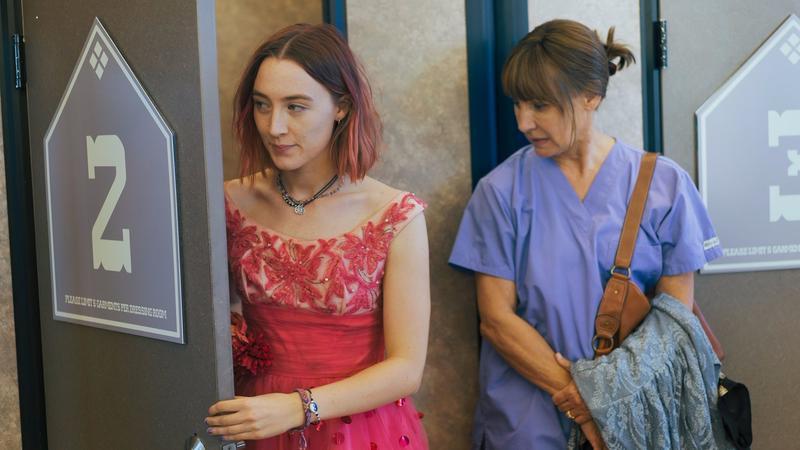 "Saoirse Ronan and Laurie Metcalf in Greta Gerwig's ""Lady Bird"""