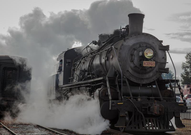 The Essex Steam Train.