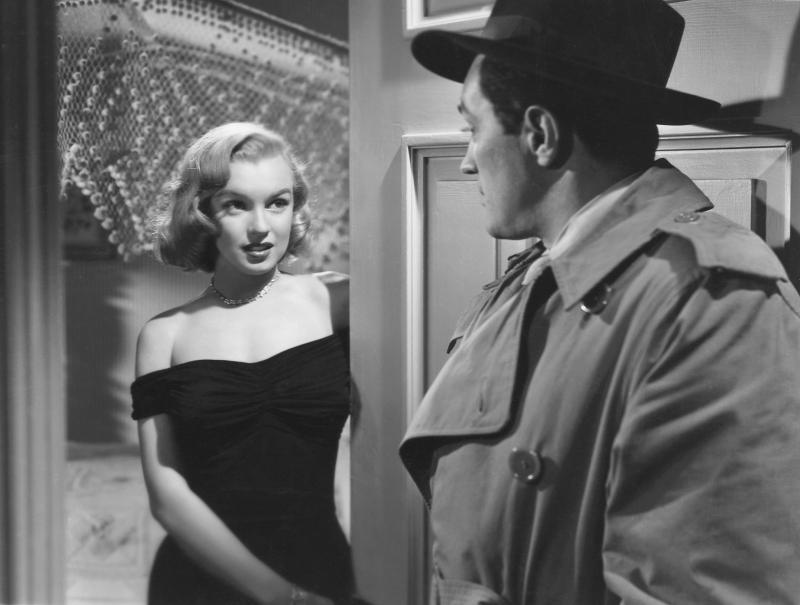 "Marilyn Monroe, ""Asphalt Jungle,"" 1961"