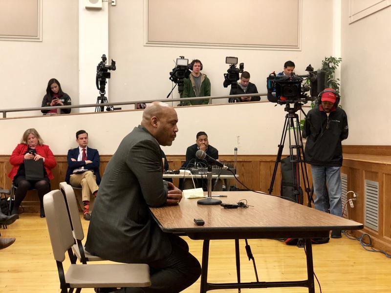 Hartford state Sen. Douglas McCrory says the city schools