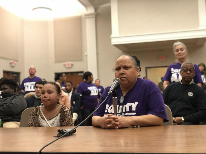 Milagros Vega with the Hartford Parent Leadership Coalition said she supports the consolidation plan