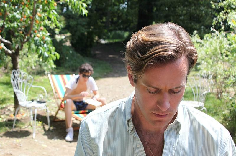 "Timothée Chalamet and Armie Hammer in ""Call Me by Your Name"""