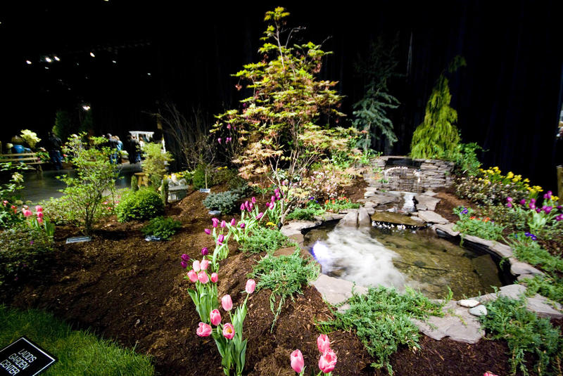 A display at the 2008 Connecticut Flower and Garden Show.