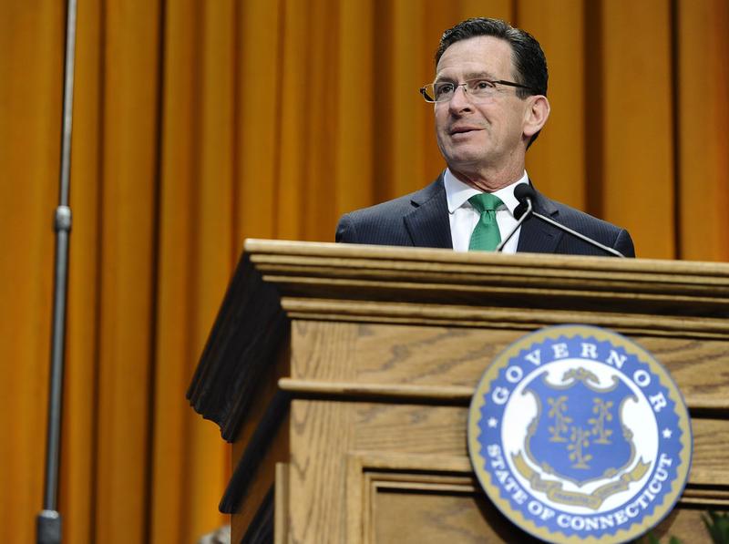 Governor Dannel Malloy in a file photo.