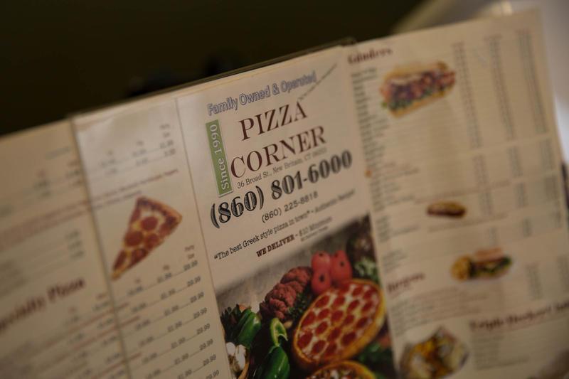 Bin Rehman's New Britain pizzeria is called Pizza Corner.