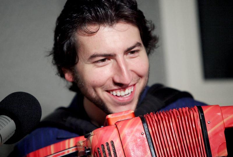 Cory Pesaturo is a multiple award-winning accordion player from Rhode Island.