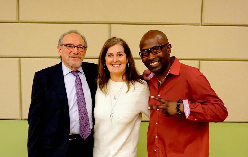 Dr. Robert Heimer, Sue Kruczek, and Kelvin Young.