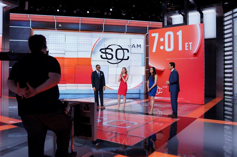 A behind-the-scenes look at ESPN's flagship program, SportsCenter.