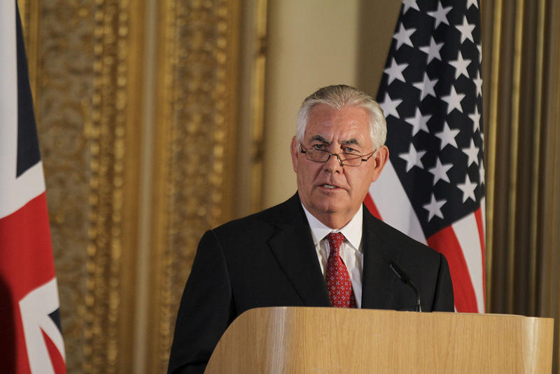 Rex Tillerson lasted 14 months as President Trump's Secretary of State