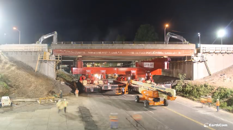 A bridge on I-84 in Southington, Conn. was built using Accelerated Bridge Construction in 2014.