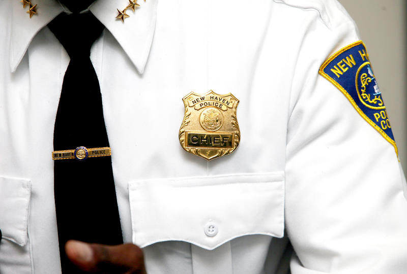 Anthony Campbell - New Haven Police Chief.