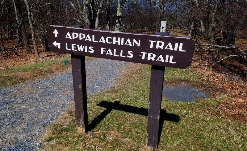 Portion of the Appalachian Trail in Virginia