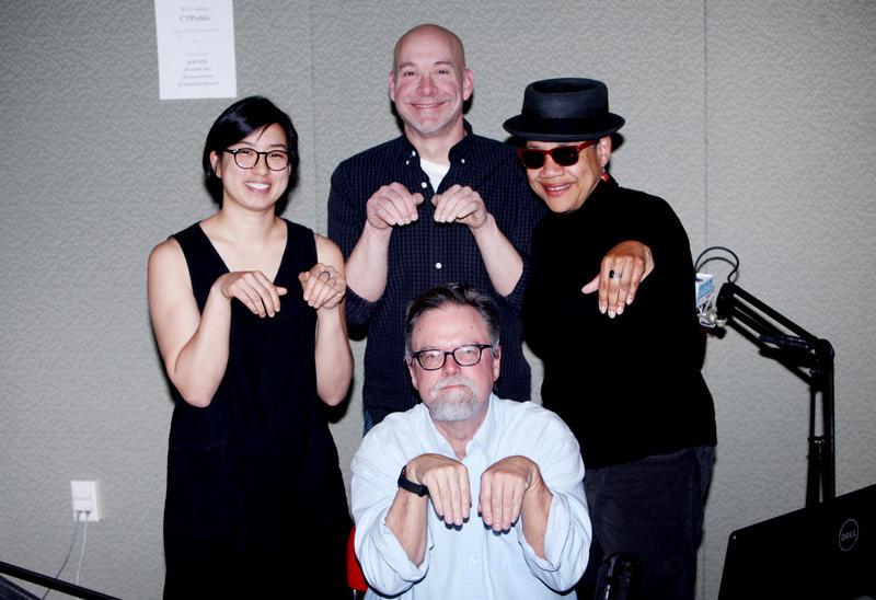 Parker Hu, Bill Yousman, Colin McEnroe, Kate Rushin.
