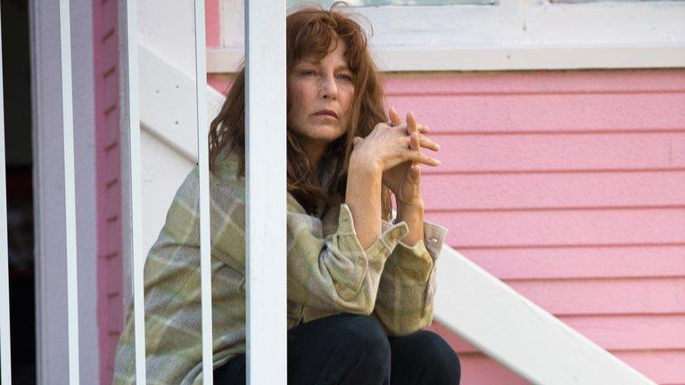 "Catherine Keener as Susette Kelo in Courtney Balaker's ""Little Pink House."""