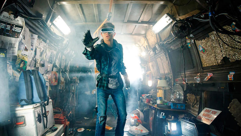 "Tye Sheridan in Steven Spielberg's ""Ready Player One."""