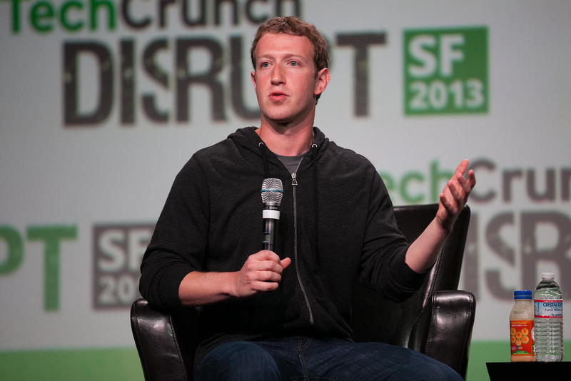 Facebook CEO Mark Zuckerberg speaking in 2013.