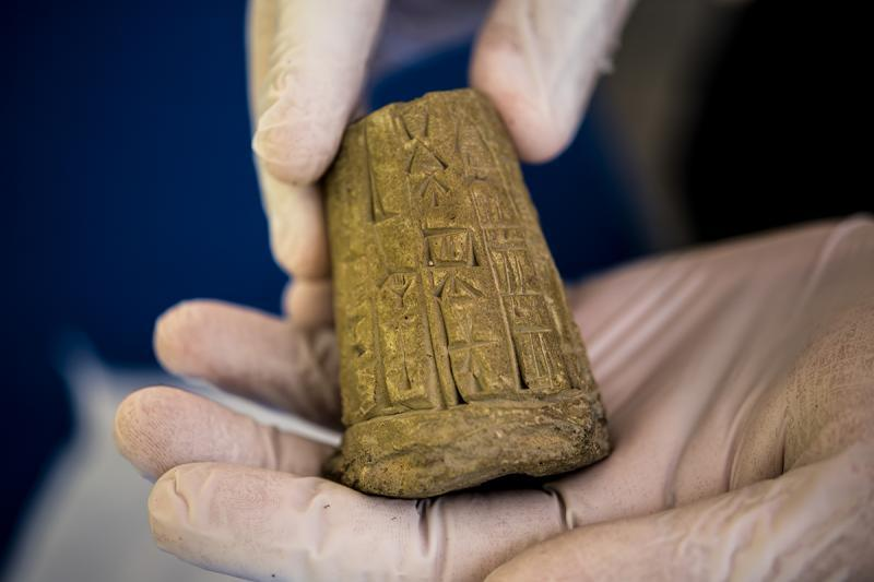 ICE returned 3,800 ancient artifacts, including cuneiform tablets, cylinder seals, and clay bullae, to the Republic of Iraq. The artifacts were smuggled into the U.S. in violation of federal law and shipped to Hobby Lobby Stores.
