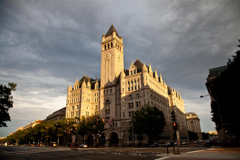 The Trump Hotel in Washington D.C. has hosted many foreign dignitaries since Trump took office