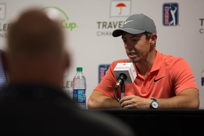 Rory McIlroy is making his second appearance in a Travelers Championship tournamen.