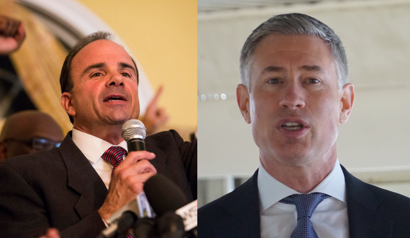 Joe Ganim and David Stemerman qualified for their respective party's primary ballot.