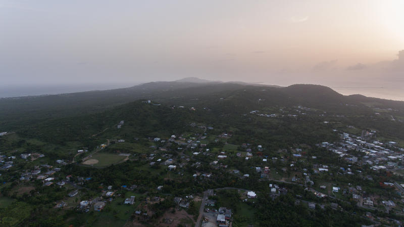 The island of Vieques in July 2018.
