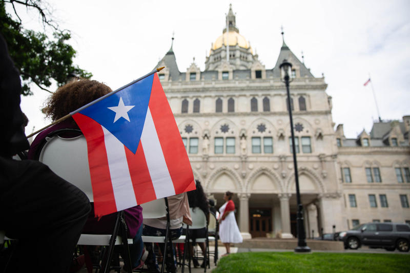 A budget adjustment bill for fiscal year 2019 signed by Governor Dannel Malloy distributes $1.5 million through three state departments to Connecticut towns and programs dedicated to assisting evacuees from Puerto Rico and the U.S. Virgin Islands.