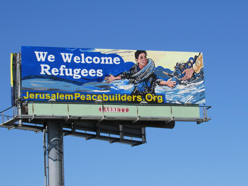 Billboard on I-95