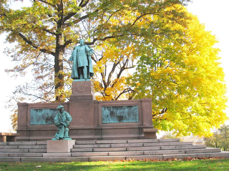 Samuel Colt Memorial in Colt Park, Hartford