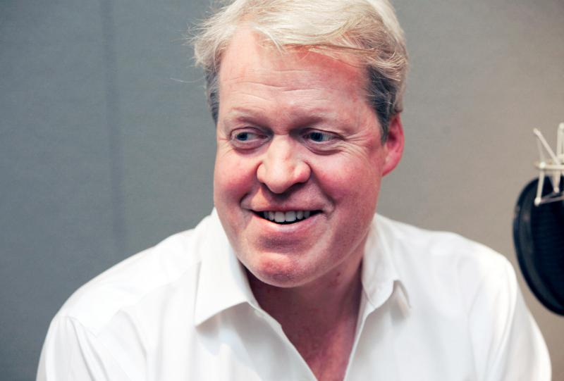 """Lord Charles Spencer, 9th Earl Spencer and the brother of Princess Diana. He's the author of several books, most recently, """"Killers of the King: The Men Who Dared to Execute Charles I""""."""