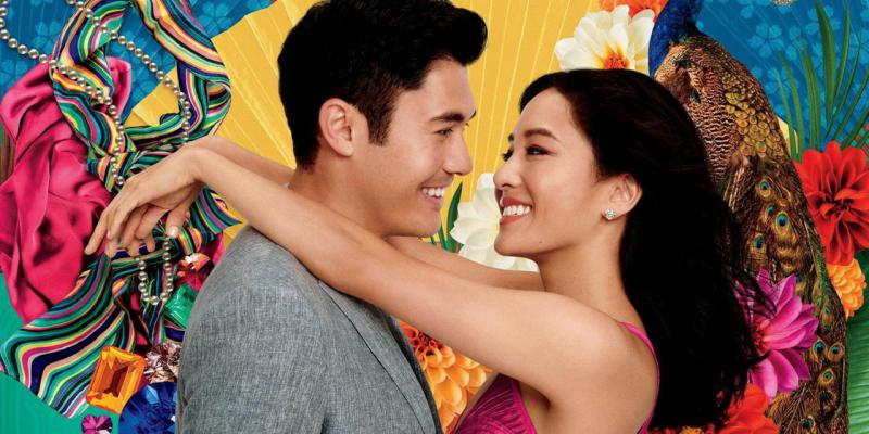 Henry Golding and Constance Wu in Jon M. Chu's 'Crazy Rich Asians.'