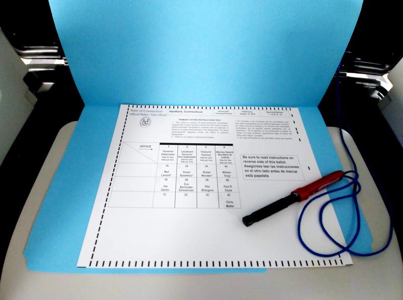 A Hartford ballot