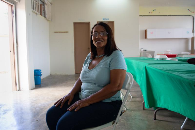 Ruth Laboy is a community leader hoping to turn this series of buildings into something positive for her town.