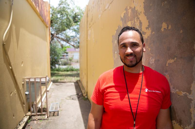 Benjamin Sosa works for the Connecticut-based Save the Children and said this neighborhood needs a functioning community center at its heart.