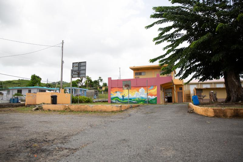 The Federico Mathew Baez in Yabucoa, Puerto Rico closed over a year ago.  Now, community members are working to turn it into a community center.