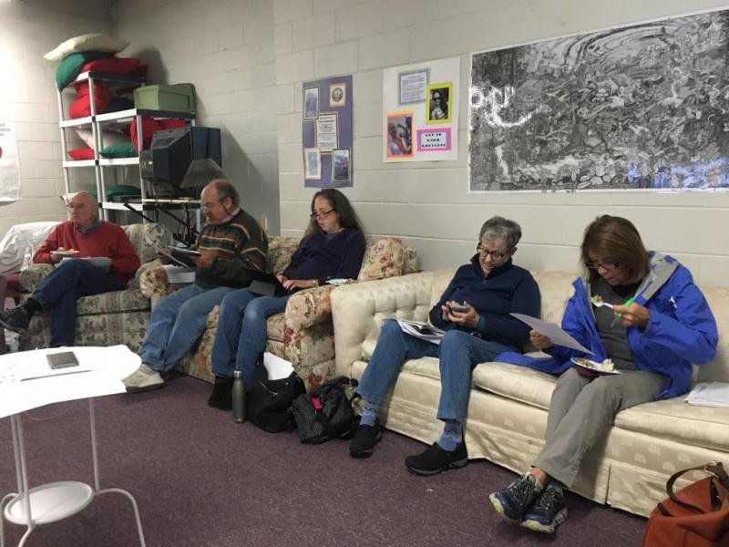 Shareholders of American Outdoor Brands Corporation meet in a church basement in Hamden