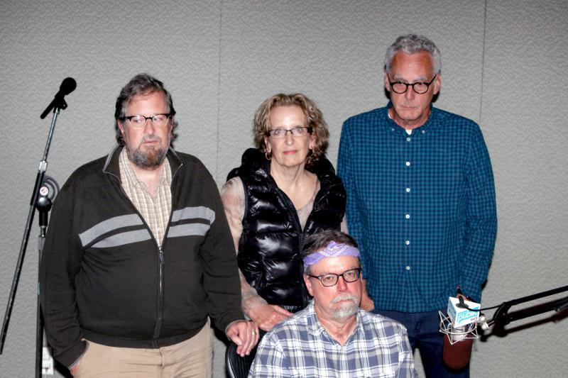 Jacques Lamarre, Irene Papoulis, Jim Chapdelaine, Colin McEnroe.