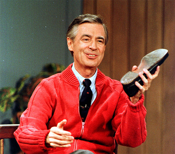 Fred Rogers on Mister Rogers' Neighborhood
