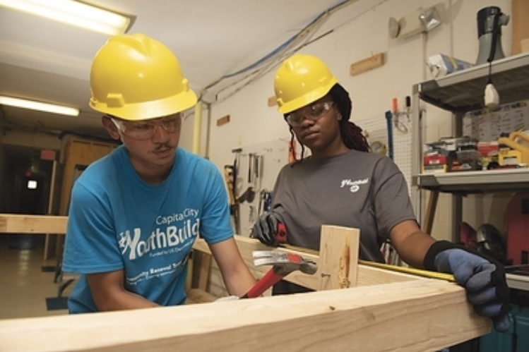 Hector Marrero (left) and Elethia Mills (right) are among more than 200 Hartford residents ages 18 to 24 who Community Renewal Team has connected to secondary education or job-skill training.