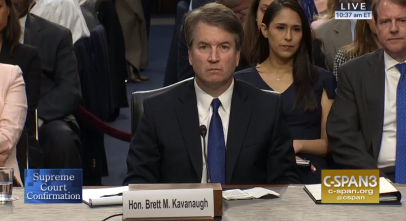 Brett Kavanaugh appeared before the Senate Judiciary Committee Tuesday.