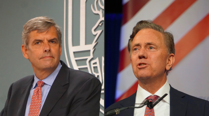 Gubernatorial hopefuls Bob Stefanowski and Ned Lamont are set to debate for the first time Wednesday night at the Garde Arts Center in New London.